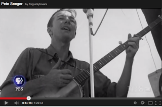 documental biográfico sobre Pete Seeger